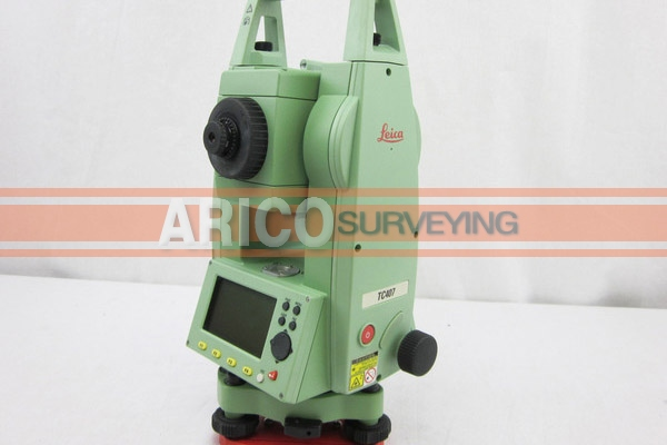 leica tc407 7 total station for surveying used surveying rh aricosurveying com manual leica tcr 407 ultra manual estacion leica tc 407